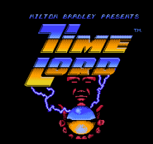Time Lord title screenshot