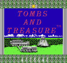 Tombs & Treasure title screenshot