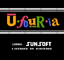 Ufouria - The Saga title screenshot