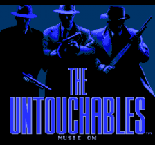 Untouchables, The title screenshot