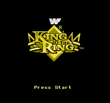 WWF King of the Ring title screenshot