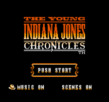 Young Indiana Jones Chronicles, The title screenshot