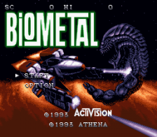 Bio Metal title screenshot