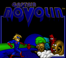 Captain Novolin title screenshot
