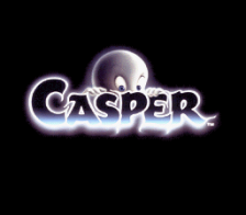 Casper title screenshot