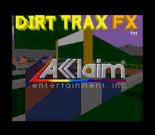 Dirt Trax FX title screenshot