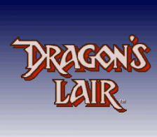 Dragon's Lair title screenshot