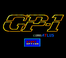 GP-1 title screenshot