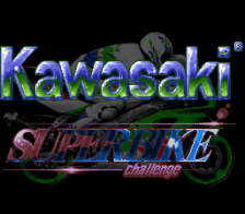 Kawasaki Superbike Challenge title screenshot