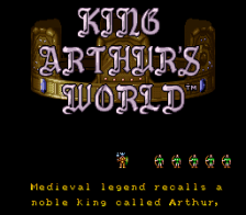King Arthur's World title screenshot