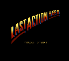 Last Action Hero title screenshot