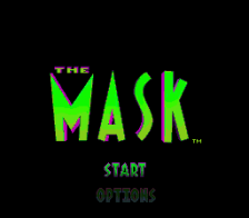Mask, The title screenshot