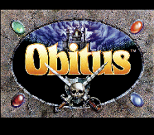 Obitus title screenshot