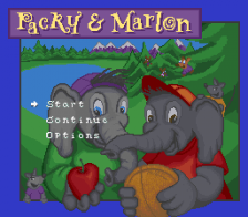 Packy & Marlon title screenshot