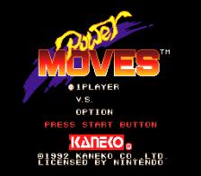 Power Moves title screenshot