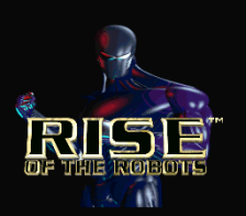Rise of the Robots title screenshot