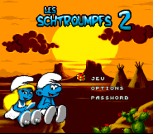 Smurfs 2, The title screenshot