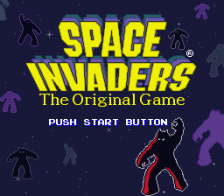 Space Invaders - The Original Game title screenshot