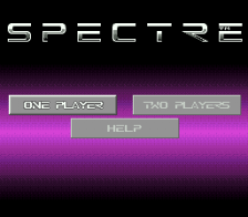 Spectre title screenshot