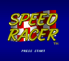 Speed Racer - in My Most Dangerous Adventures title screenshot
