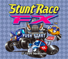 Stunt Race FX title screenshot