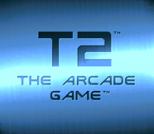 T2 - The Arcade Game title screenshot