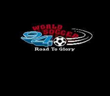 World Soccer 94 - Road to Glory title screenshot