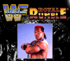 WWF Royal Rumble title screenshot