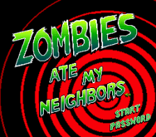 Zombies Ate My Neighbors title screenshot