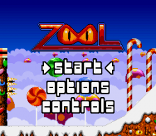 Zool - Ninja of the Nth Dimension title screenshot