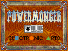 Power Monger title screenshot