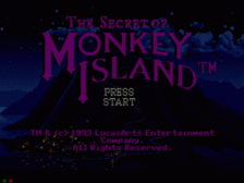 Secret of Monkey Island, The title screenshot