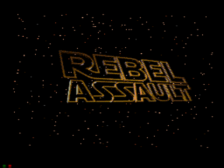 Star Wars - Rebel Assault title screenshot