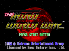 Third World War title screenshot