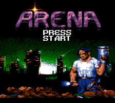 Arena title screenshot