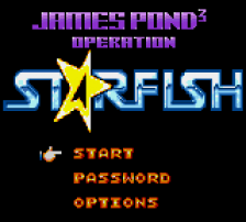 James Pond 3 - Operation Starfi5h title screenshot