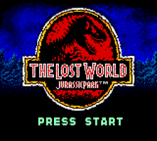 Lost World, The - Jurassic Park title screenshot