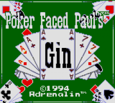 Poker Faced Paul's Gin title screenshot