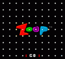 Zoop title screenshot
