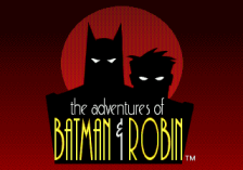 Adventures of Batman & Robin, The title screenshot