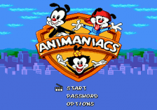 Animaniacs title screenshot