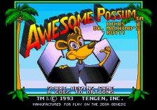 Awesome Possum Kicks Dr Machino's Butt !  title screenshot