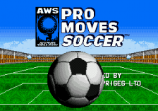 AWS Pro Moves Soccer title screenshot