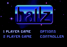 Ballz 3D - The Battle of the Ballz title screenshot