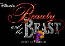 Beauty and the Beast - Roar of the Beast title screenshot