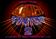 Blaster Master 2 title screenshot
