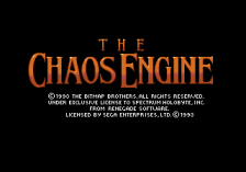 Chaos Engine, The title screenshot