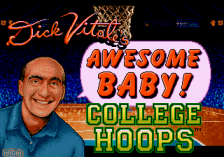 Dick Vitale's 'Awesome, Baby!' College Hoops title screenshot