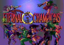 Eternal Champions title screenshot