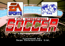 FIFA International Soccer title screenshot